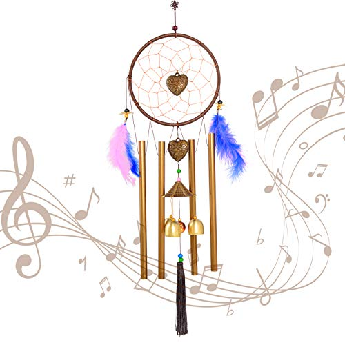 Wind chime,Wind Chimes Outdoor/Indoor,Dream catchers, Dreamcatcher,Boho Decor,Boho Wall Decor,Outdoor Decor,Dream catcher, Dreamcatche Chime,Gifts for mom,Birthday Gifts for mom,Memorial Wind chimes