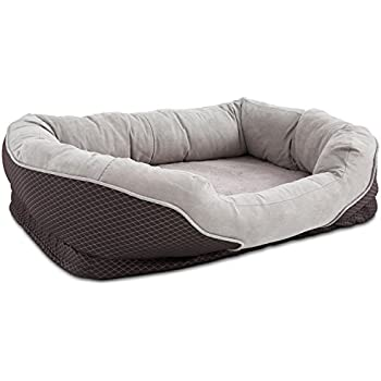 Amazon.com : Petco Orthopedic Peaceful Nester Gray Dog Bed