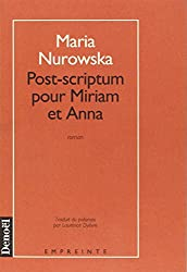 Post-scriptum pour Miriam et Anna