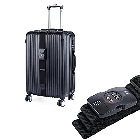 Naturehike Nylon Travel Suitcase Straps Luggage Strapping Belt Baggage Backpack Bag Suitcase Packing Belt