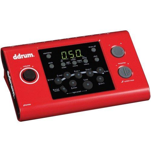 ddrum DD1M DD1 Electronic Drum Module, Red by Ddrum