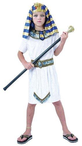 Children's Pharaoh Headpiece, Collar & Belt - Pharaoh Kids Costume