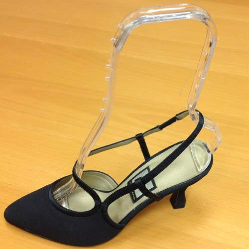 High Rise Acrylic Shoe Support Form, Clear Plastic Footwear Shaping Display Insert, 20 Pack by Store Fixtures Direct (Image #4)