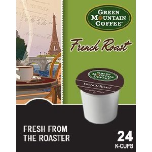 Green Mountain Coffee K-Cups, French Roast, 96-Upon