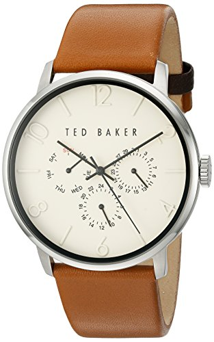 Ted Baker Men's 10029569 Smart Casual Analog Display Japanese Quartz Brown Watch