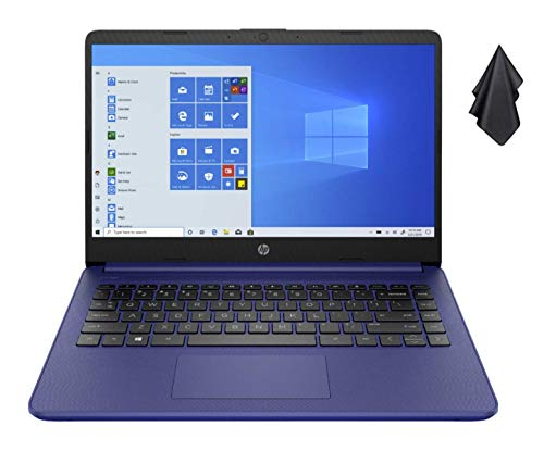 2021 Newest HP 14-inch HD Non-Touch Laptop, Intel 2-Core N4020 up to 2.8 GHz, 4 GB RAM, 64 GB eMMC, WiFi, Webcam…