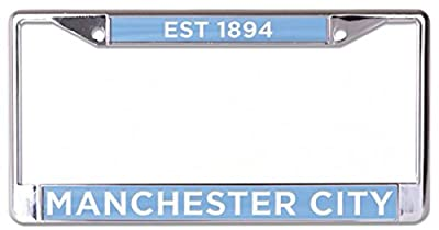 Blue Metal with Inlaid Acrylic Wincraft Real Madrid CF Premium License Plate Frame