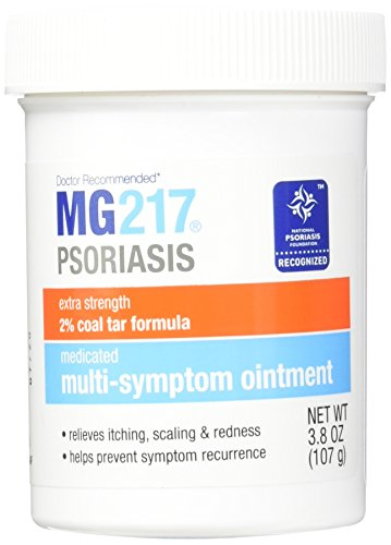 MG 217 Medicated Coal Tar Ointment, 3.8 Ounce, 2 Count
