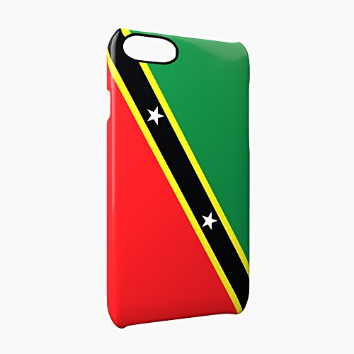 Flag of Saint Kitts and Nevis Glossy Hard Snap-On Protective iPhone 7 Plus + Case Cover