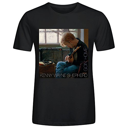 Kenny Wayne Shepherd Goin Home Men's O-Neck Classic T Shirts Black (Ray Park Ross)