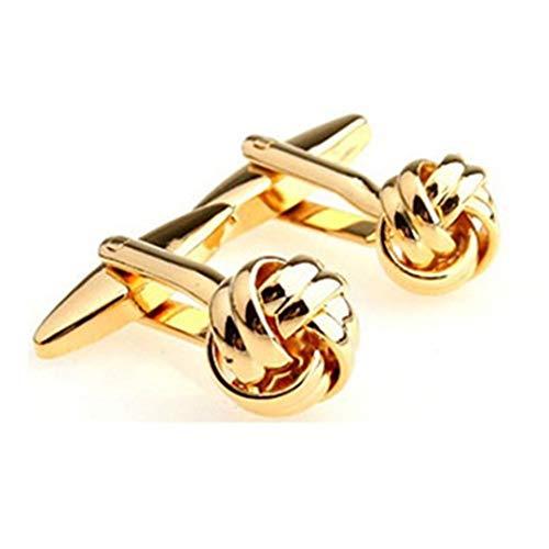16 Designs Metal Knots Enamel Cufflink Cuff Link 16