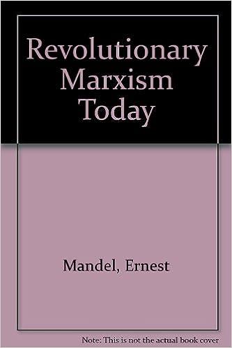 Revolutionary Marxism Today