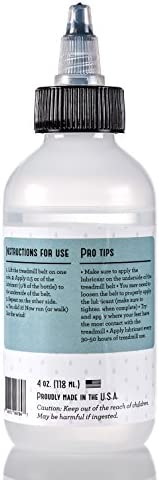 100% Silicone Treadmill Belt Lubricant / Lube - Easy to Apply ...