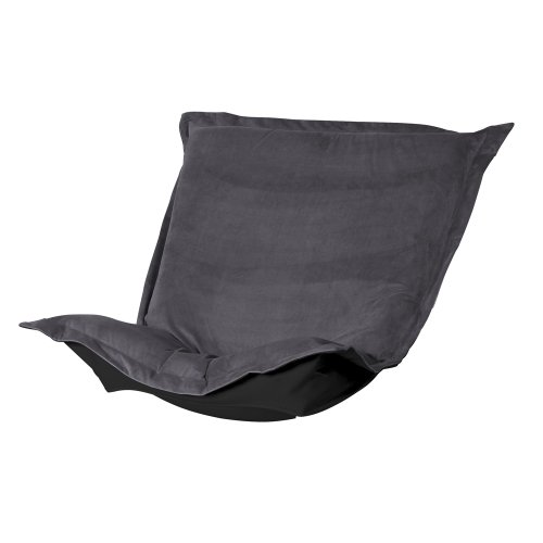 (Howard Elliott C300-225 Puff Chair Cover, Bella Pewter)