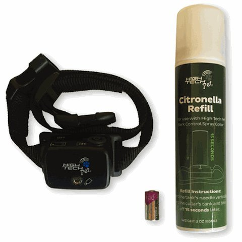 Deluxe Anti Bark Spray - High Tech Pet Bark Vaporizor Deluxe Citronella Spray Anti Dog Bark Collar