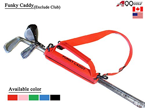 A99 Golf C12 Funky Caddy Golf Bag Driving Range Carrier Sleeve Light with velcro Red by A99 Golf