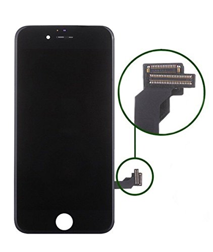 Replacement Screen LCD Display Digitizer Assembly complete full set for iPhone 7 4.7 inch (black) including repair tool kit by ZTR