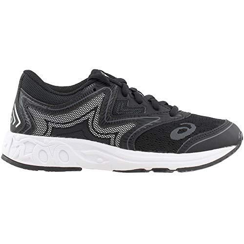 ASICS Unisex-Kids Noosa GS Running Shoe, Black/Carbon/Mid Grey, 1 Medium US Big Kid by ASICS (Image #1)
