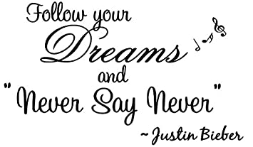 Follow Your Dream And U0026quot;Never Say Neveru0026quot;.   Justin Bieber, Part 41