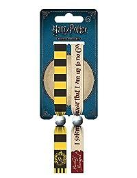 Official Harry Potter Hufflepuff Festival Wristband Set - Fabric Bracelets