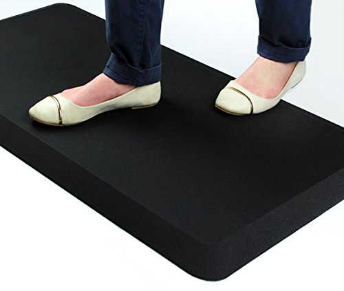 AFS-TEX System 3000, Anti-Fatigue Mat, Designed for Standing Desk Use, Carbon Black, 20'' x 39'' (FC35199ABM) by Floortex (Image #5)