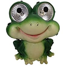 Solar Frog Accent Set of 2