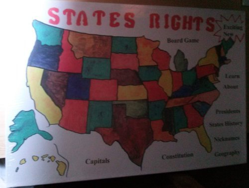 States Rights Board Game by BRIGADE CORP.