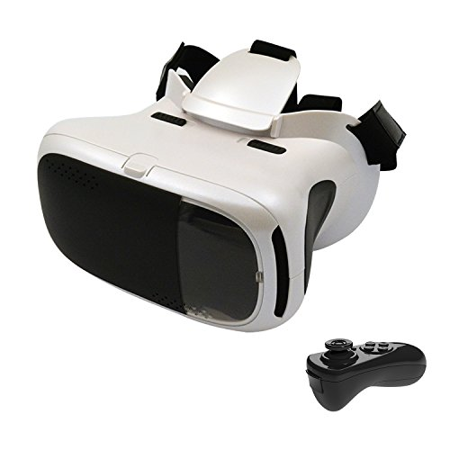Build Excellent Virtual Reality Headset 3D VR Glasses VR Goggles Work With 4.7-6.0 Inch Smartphone (YK-3)