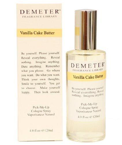 Demeter Vanilla Cake Batter By Demeter For Women. Pick-me Up Cologne Spray 4.0-Ounces