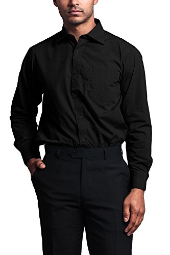 dress shirts that go with black pants - 9