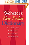 #2: Webster's New Pocket Dictionary