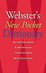 Image of the product Websters New Pocket that is listed on the catalogue brand of Houghton Mifflin.