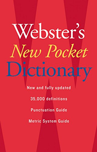Webster's New Pocket Dictionary cover