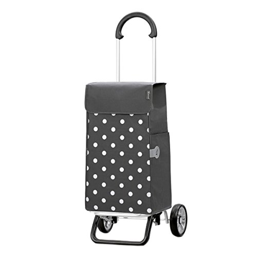 Original Andersen Scala Shopper Plus mit Tasche Lis grau Punkte
