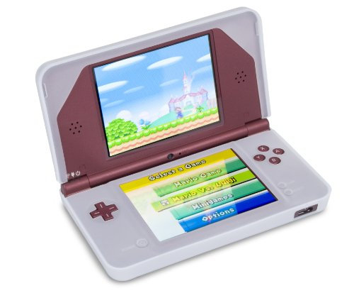 Nintendo Silicone Sleeves - DSi XL Silicone Sleeve - Clear