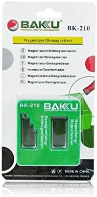 Magnetizador, Desmagnetizador imán para Tornillos y Destornillador Baku: Amazon.es: Electrónica