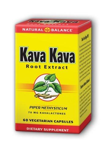 Solde naturel Kava Kava Root Extract, 60-Count