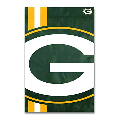 (Party Animal Green Bay Packers Bold Logo Banner NFL Flag)