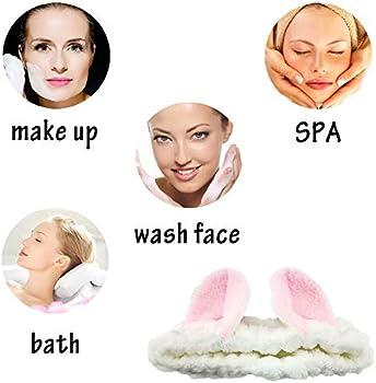 11 Colors Cat Ear Headband Lady Soft Turban SPA Bath Makeup Wash Face Hair Band