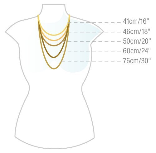 Jo for Girls - JN2/35 - Collier Enfant - Argent 0.6 Gr