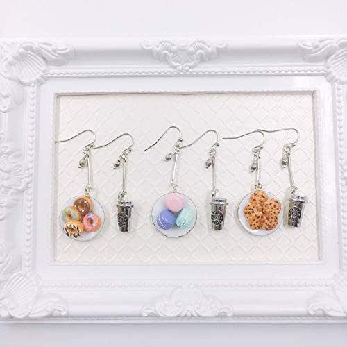 Mini Food Food earrings Rocky road charm Miniature Food Jewelry tray bake earrings Rocky road earrings cake charm gift for baker