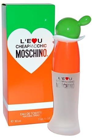 L\'Eau de Cheap and Chic by Moschino Eau de Toilette 30ml: Amazon ...