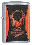 Zippo Harley-Davidson with Eagle & Logo Street Chrome Pocket Lighter
