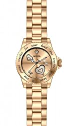 Invicta Women's INVICTA-14735 Angel Analog Display Japanese Quartz Rose Gold-Tone Stainless Steel Watch