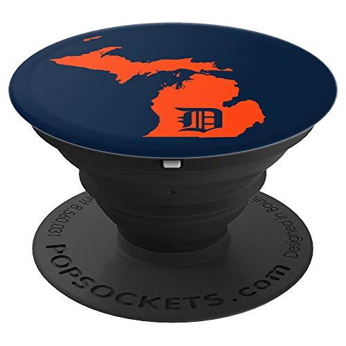 Detroit Baseball - Michigan Home Map Bengal Tiger Gift