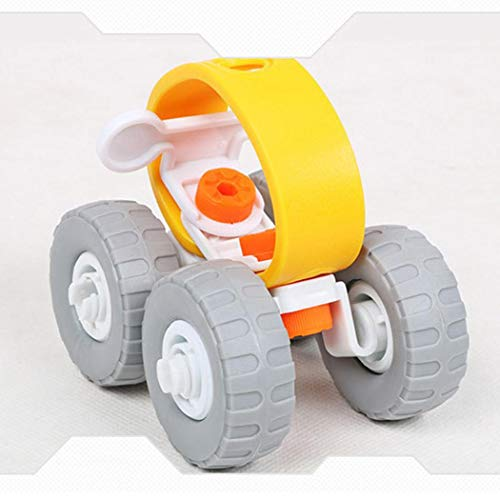 Cartoon Helicopter Car Shape Disassembly Stacking Toys Toddlers Children Educational Game (Off-road Vehicle) by CINUE (Image #3)