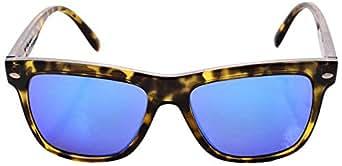 Spektre Sunglasses For Unisex Blue Wayfarer Frame Made Of Acetate