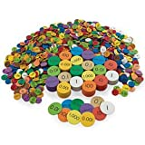 Nasco Place Value Disc Complete Classroom Set - 10-Value Set - 3 200 Pieces - Math Education Program - TB27029