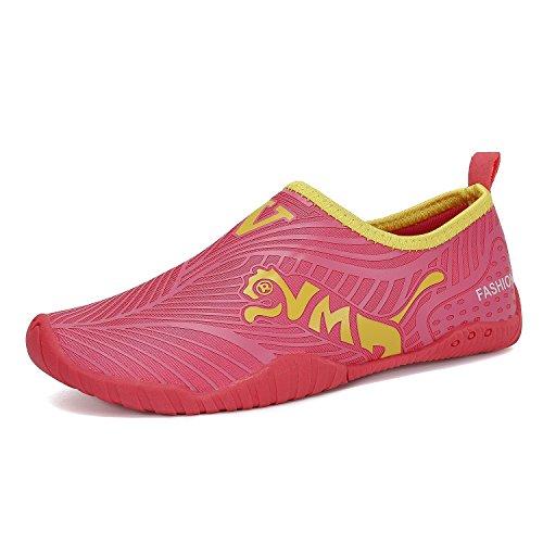 Chaussettes Respirantes Rose Kids Boys Yoga Extérieures Chaussures Girls Pour dry Piscine Surf aqua D'eau Aqua Flarut Plage qXpxw0aq
