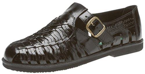 Gordini - Sandalias de vestir de cuero para hombre negro